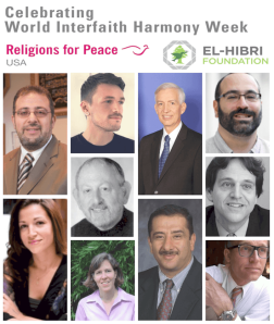 Missing women interfaith harmony week2